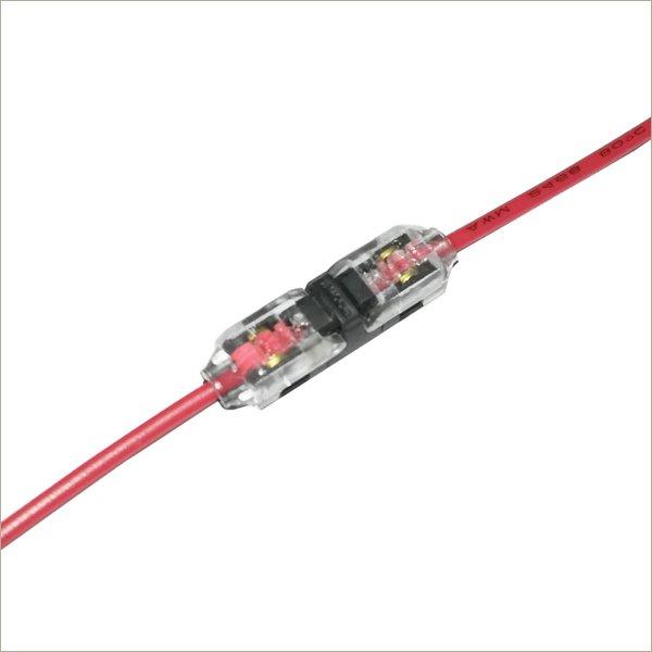 Solderless butt connectors low voltage speak automotive wire connectors D1C