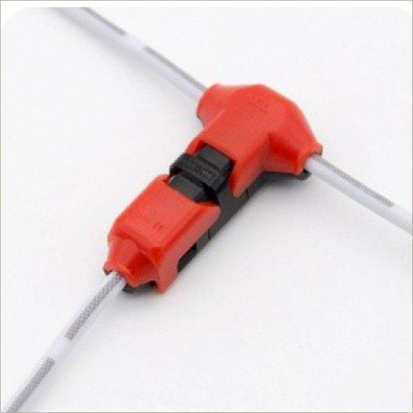 t tap wire connectors solderless low voltage speaker automotive butt splice T1R